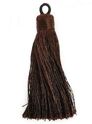 Nylontofs 74 mm mörkbrun, 1 st