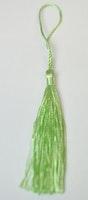 Silkestofs 8 cm ljusgrön, 1 st