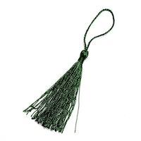 Silkestofs 8 cm mörkgrön, 1 st