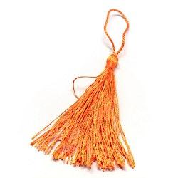 Silkestofs 8 cm orange, 1 st