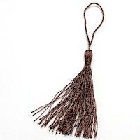 Silkestofs 8 cm mörkbrun, 1 st