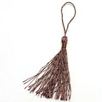 Silkestofs 8 cm brun, 1 st
