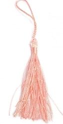 Silkestofs 8 cm peach, 1 st