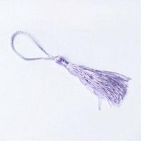 Silkestofs 8 cm ljuslila, 1 st