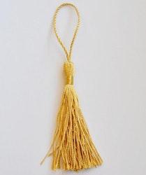 Silkestofs 8 cm guld, 1 st