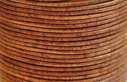 Lädersnöre 1.5 mm natur, 1 m