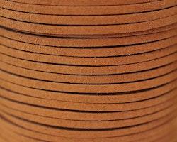 Mockaband 3 mm rödbrun, 1 m