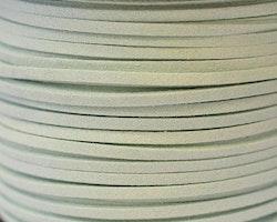 Mockaband 3 mm ljus aqua, 1 m