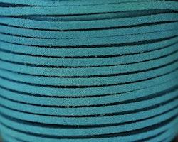 Mockaband 3 mm mörk turkos, 1 m