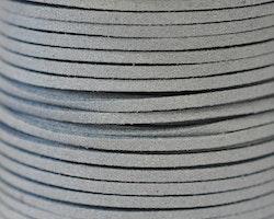Mockaband 3 mm stålblå, 1 m