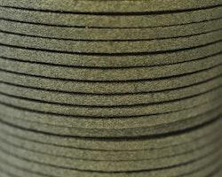 Mockaband 3 mm oliv, 1 m