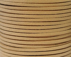 Mockaband 3 mm ljusbrun, 1 m