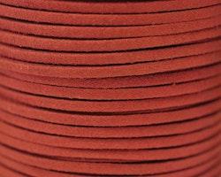 Mockaband 3 mm mörkröd, 1 m