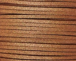 Mockaband 3 mm bronze, 1 m