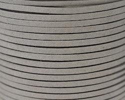 Mockaband 3 mm ljusgrå, 1 m