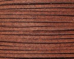 Mockaband 3 mm mörkbrun, 1 m
