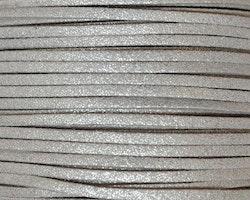 Mockaband 3 mm silver, 1 m