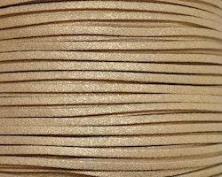 Mockaband 3 mm guld, 1 m