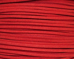 Mockaband 3 mm röd, 1 m