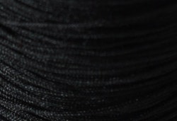 Nylontråd 0.4 mm svart, 1 rulle