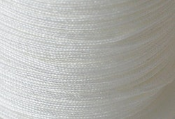 Nylontråd 0.4 mm vit, 1 rulle