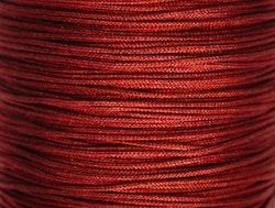 Nylontråd 0.5 mm mörkröd, 1 rulle