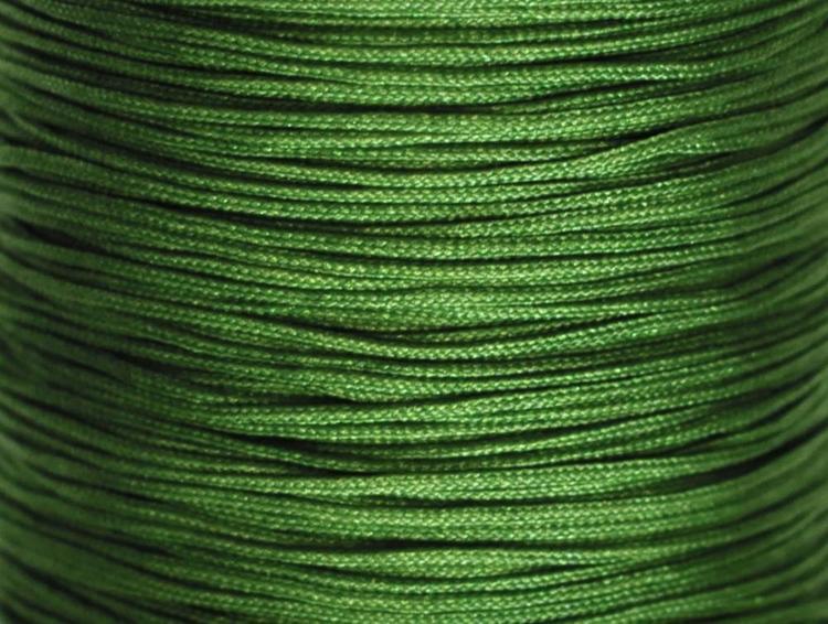 Nylontråd 0.5 mm mörkgrön, 1 rulle