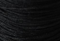 Nylontråd 1.5 mm svart, 1 rulle