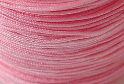 Nylontråd 1.5 mm rosa, 1 rulle