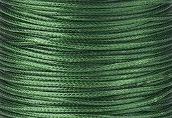 Vaxad bomullstråd 0.5 mm mörkgrön, 10 m