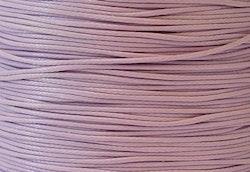 Vaxad bomullstråd 0.5 mm ljuslila, 10 m