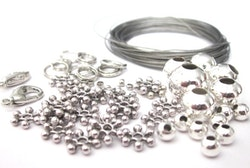 Startpaket, antikfärgad metall