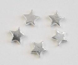 Sterling silver pärla stjärna, 1 st