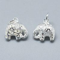 Sterling silver berlock elefant, 1 st