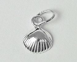 Sterling silver berlock liten snäcka, 1 st