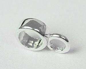 Sterling silver liten hanger, 1st