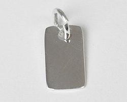 Sterling silver berlock liten tag, 1 st