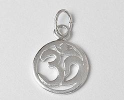 Sterling silver berlock ohm, 1 st