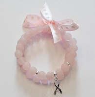 Sterling silver berlock rosa bandet, 1 st