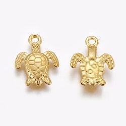Guldfärgad berlock sköldpadda, 10 st