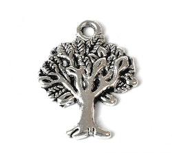 Antikfärgad berlock Livets träd, 10 st