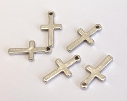 Antikfärgade små kors, 10 st