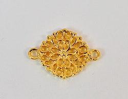 Guldfärgad connector blomma, 1st
