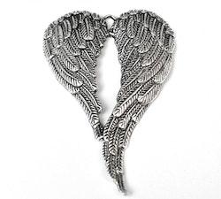 Antikfärgat stort hänge vingar, 1 st