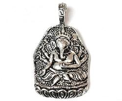 Antikfärgat hänge Ganesha, 1 st