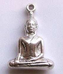 Antikfärgad stor buddha sittande, 1 st