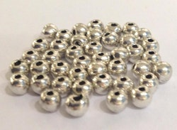 Antikfärgade metallpärlor 3-4 mm, ca 200 st