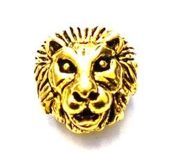 Antikt guldfärgat lejon, 10 st