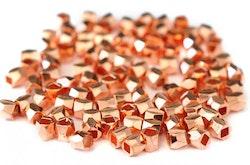 Roséfärgade minikuber, ca 100 st
