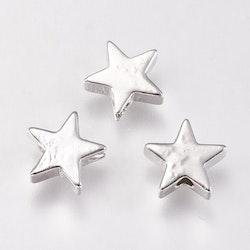 Antikfärgade mellandelar stjärnor, 10 st